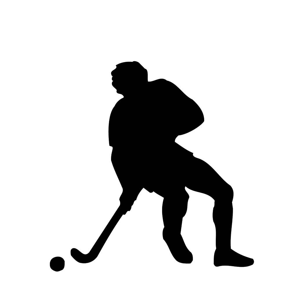 Vinilo decorativo: El hockey