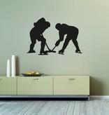 Vinilo decorativo: Hockey sobre hielo