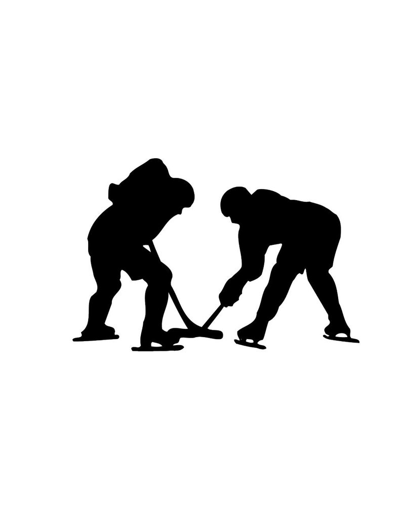 Ice Hockey Cut Vinyl