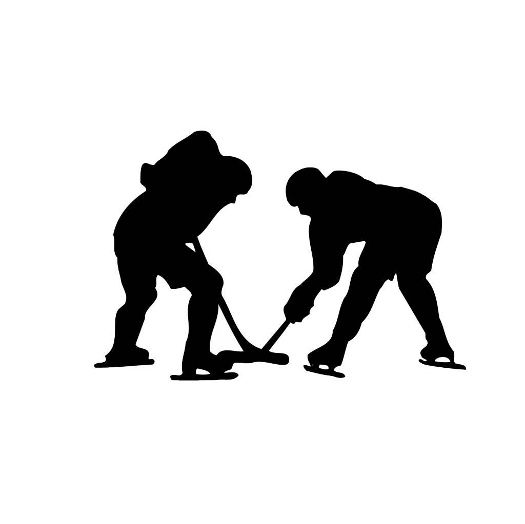 Eishockey Folienschnitt