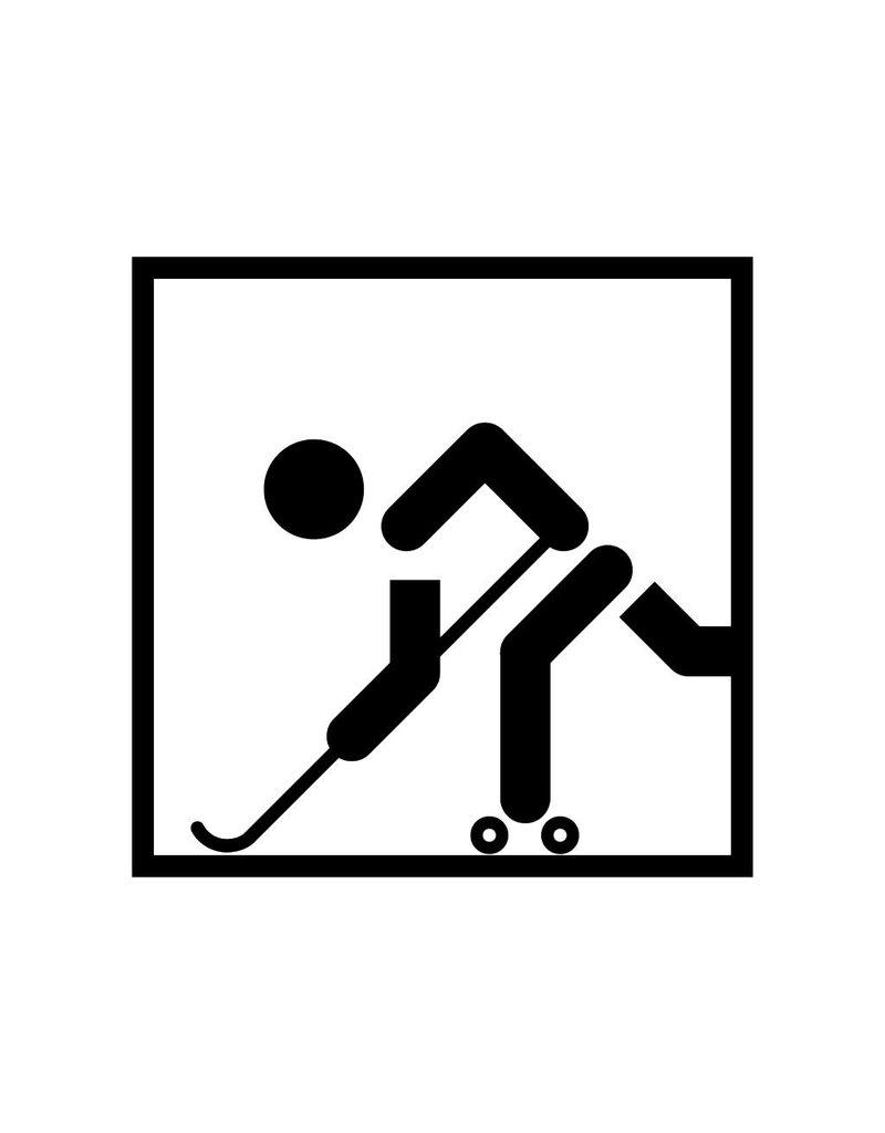Skatehockey Folienschnitt