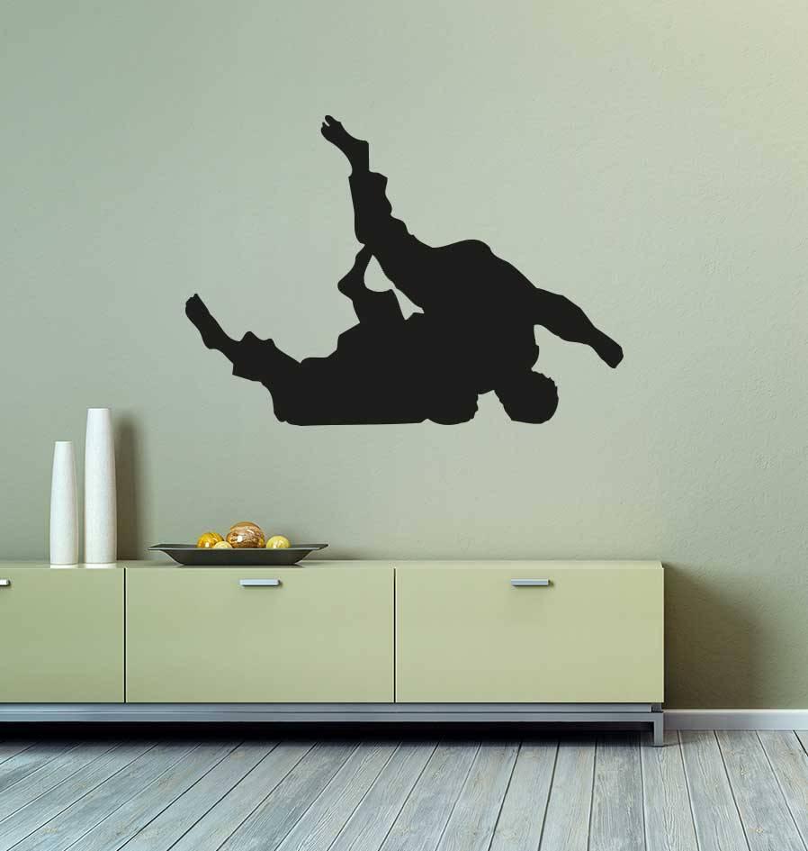 Vinilo decorativo: Judo