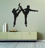 Vinilo decorativo: Karate