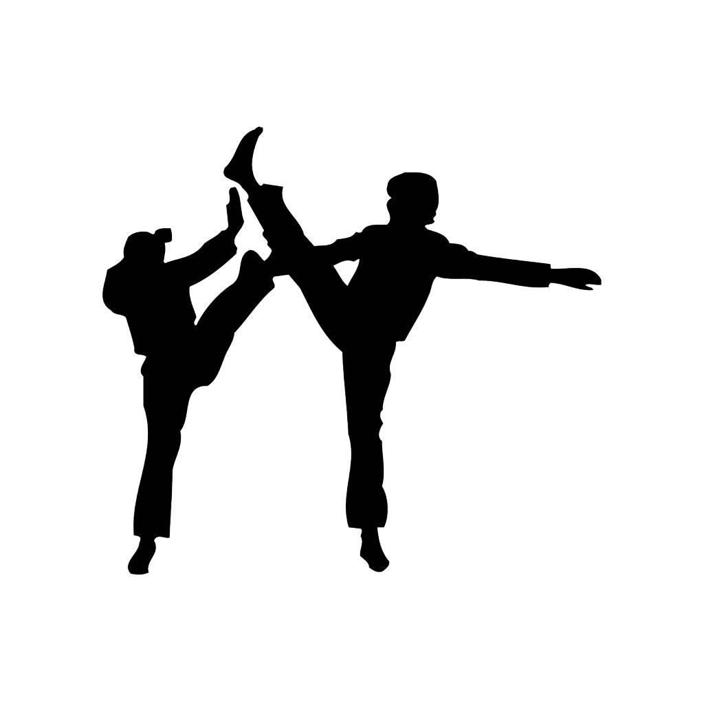 Karate Folienschnitt