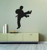 Vinilo decorativo: Karate 3