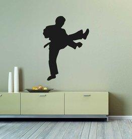 Vinilo decorativo: Karate 2