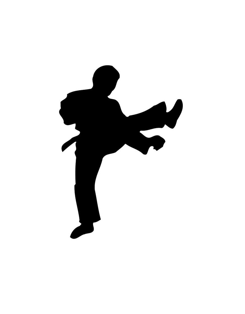 Karate2 Snijvinyl
