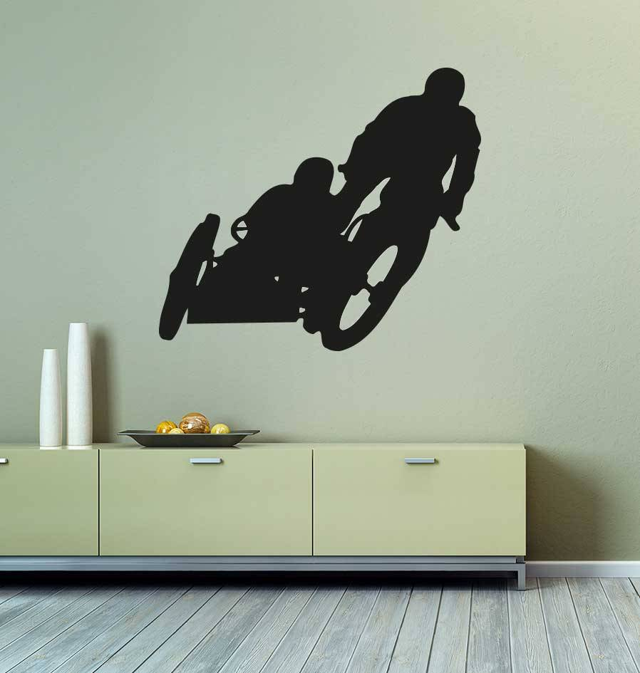 Motor bike 2 Cut Vinyl