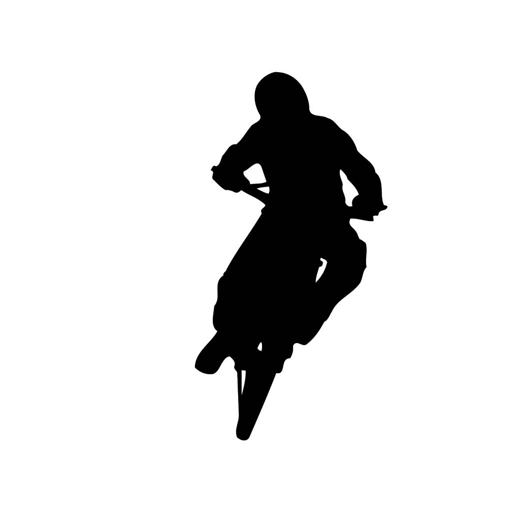 Motor bike 3 Cut Vinyl