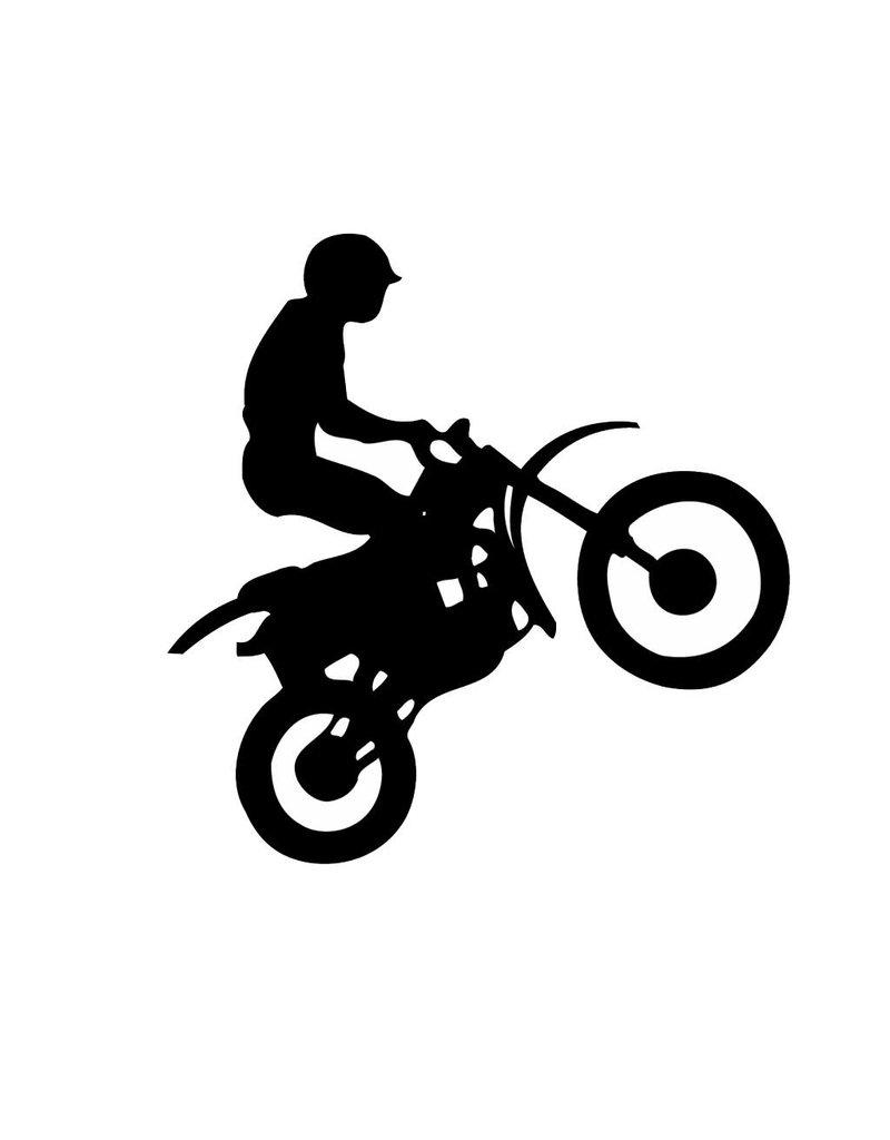 Motor bike 6 Cut Vinyl