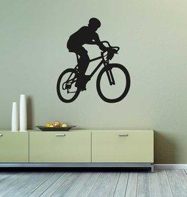 Vélo tout-terrain découpe de vinyle