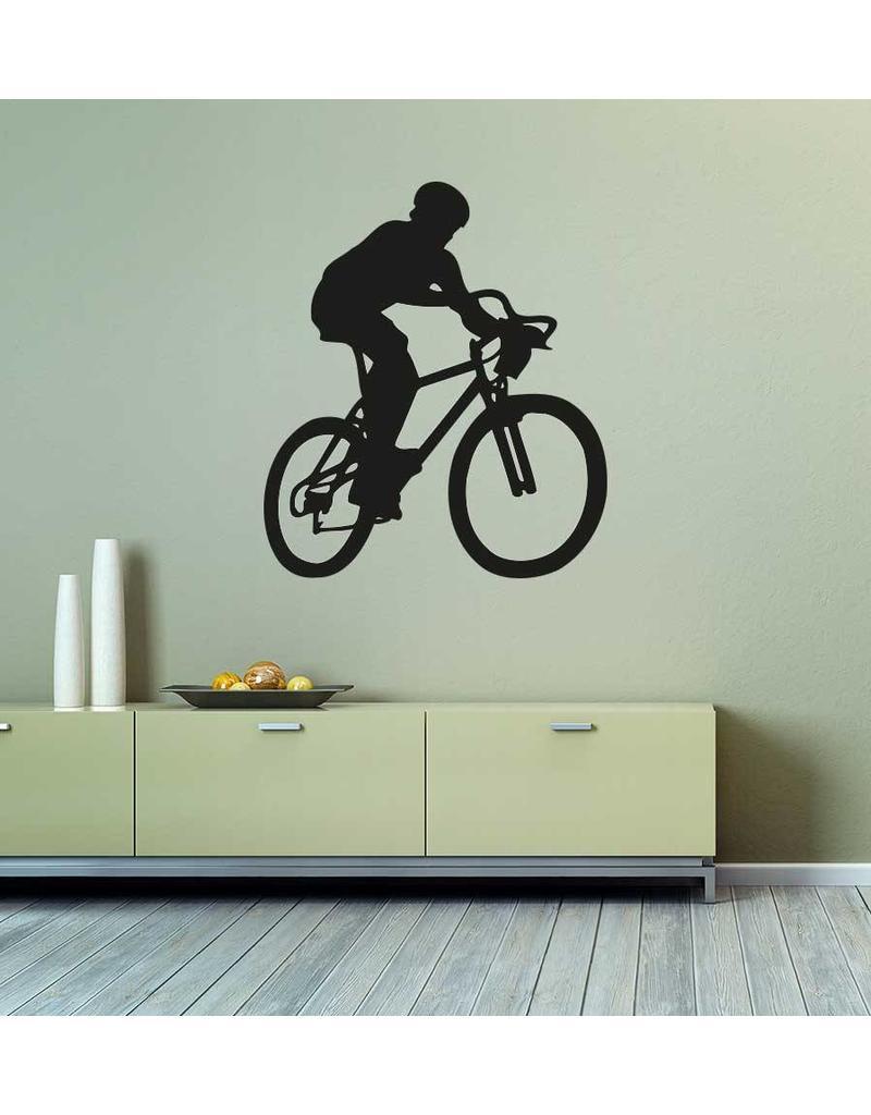 Vinilo decorativo: Bicicleta de montaña