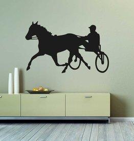 3 cheval de coupe de vinyle