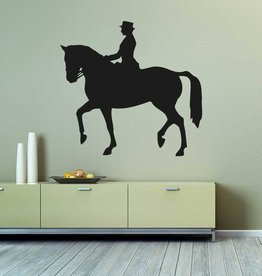 4 cheval de coupe de vinyle
