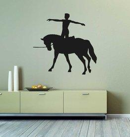 5 cheval de coupe de vinyle