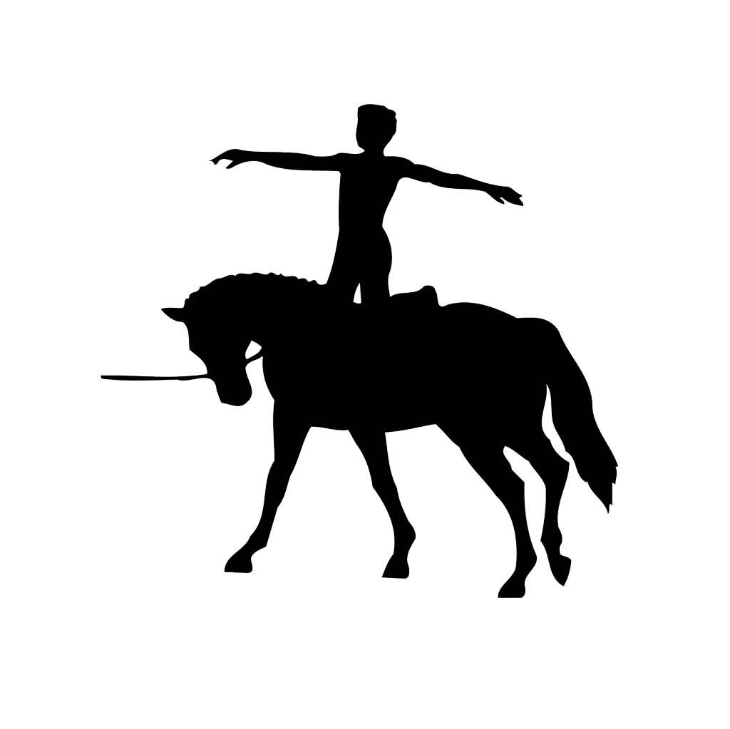 Pferd5 Folienschnitt