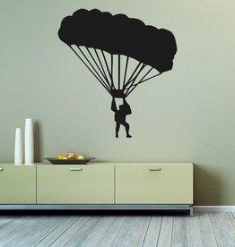 Parachutisme découpe de vinyle