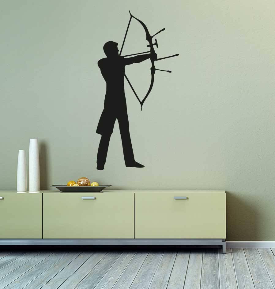 Vinilo decorativo: Arco y flecha