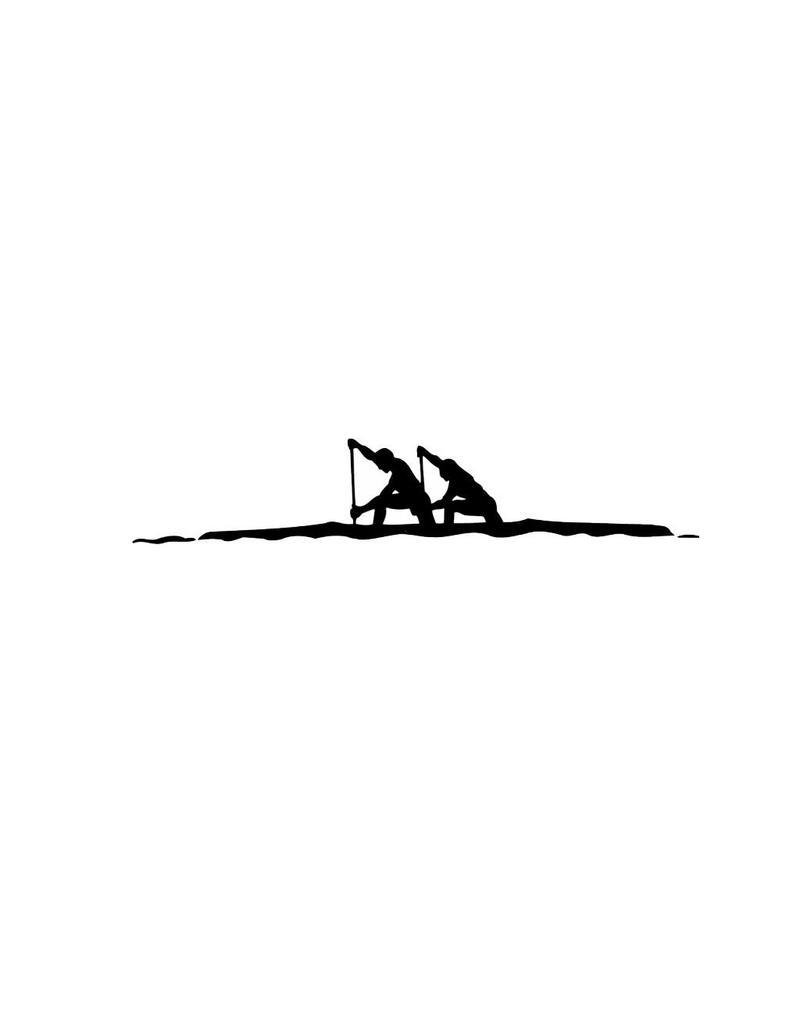 Rowing 1 Cut Vinyl