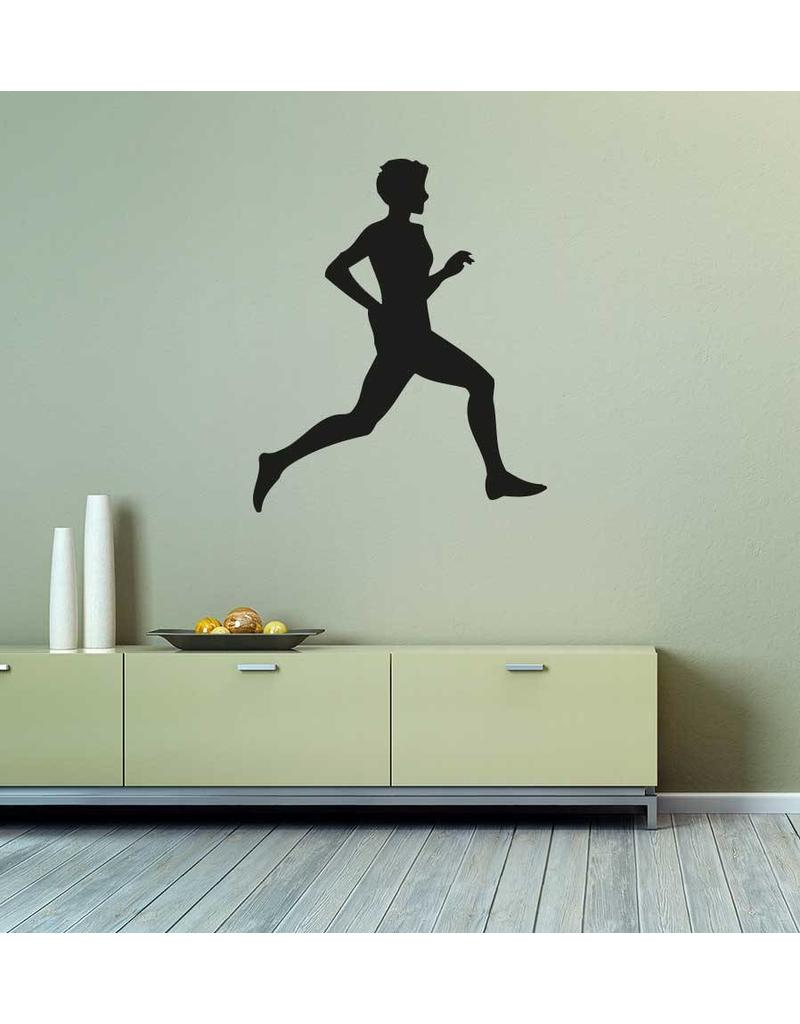 Vinilo decorativo: Correr