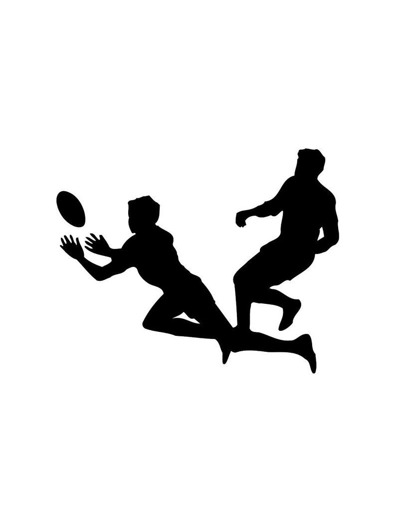 Vinilo decorativo: El rugby