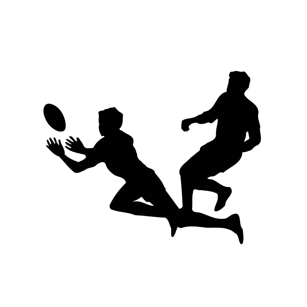 Rugby Folienschnitt