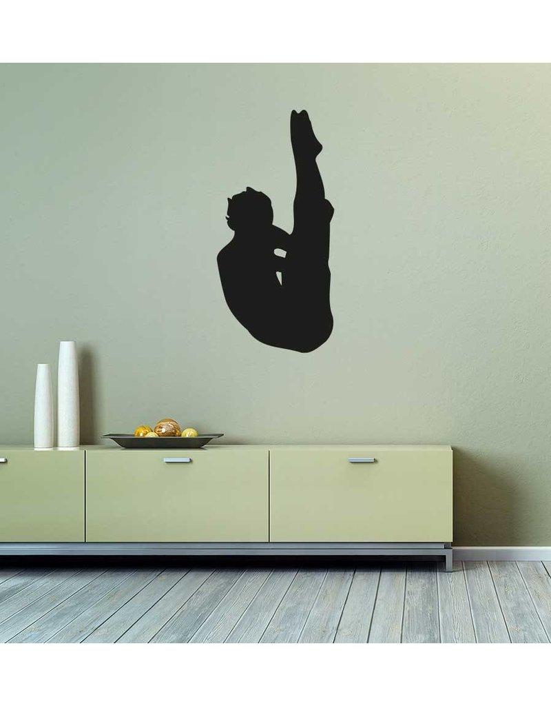 Vinilo decorativo: Salto artístico