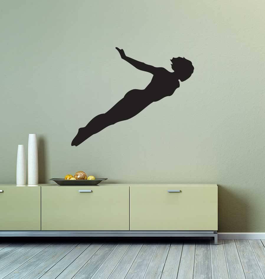 Vinilo decorativo: Salto artístico  2