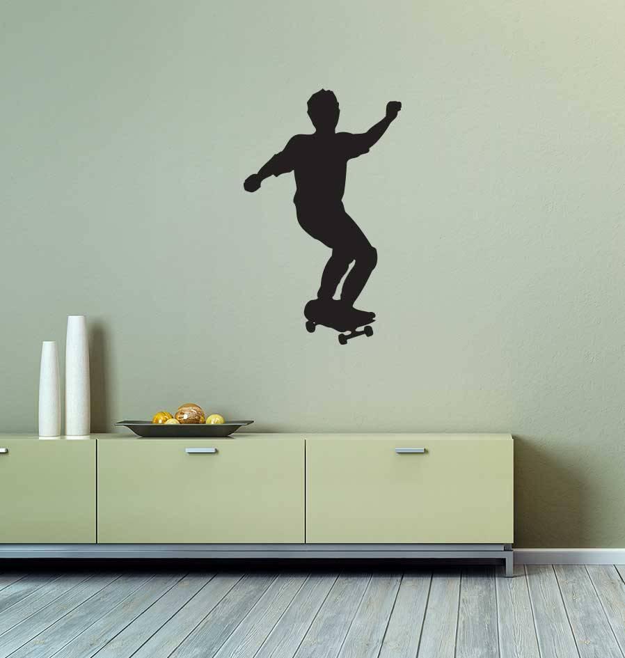Vinilo decorativo: El patinaje de velocidad sobre ruedas 3