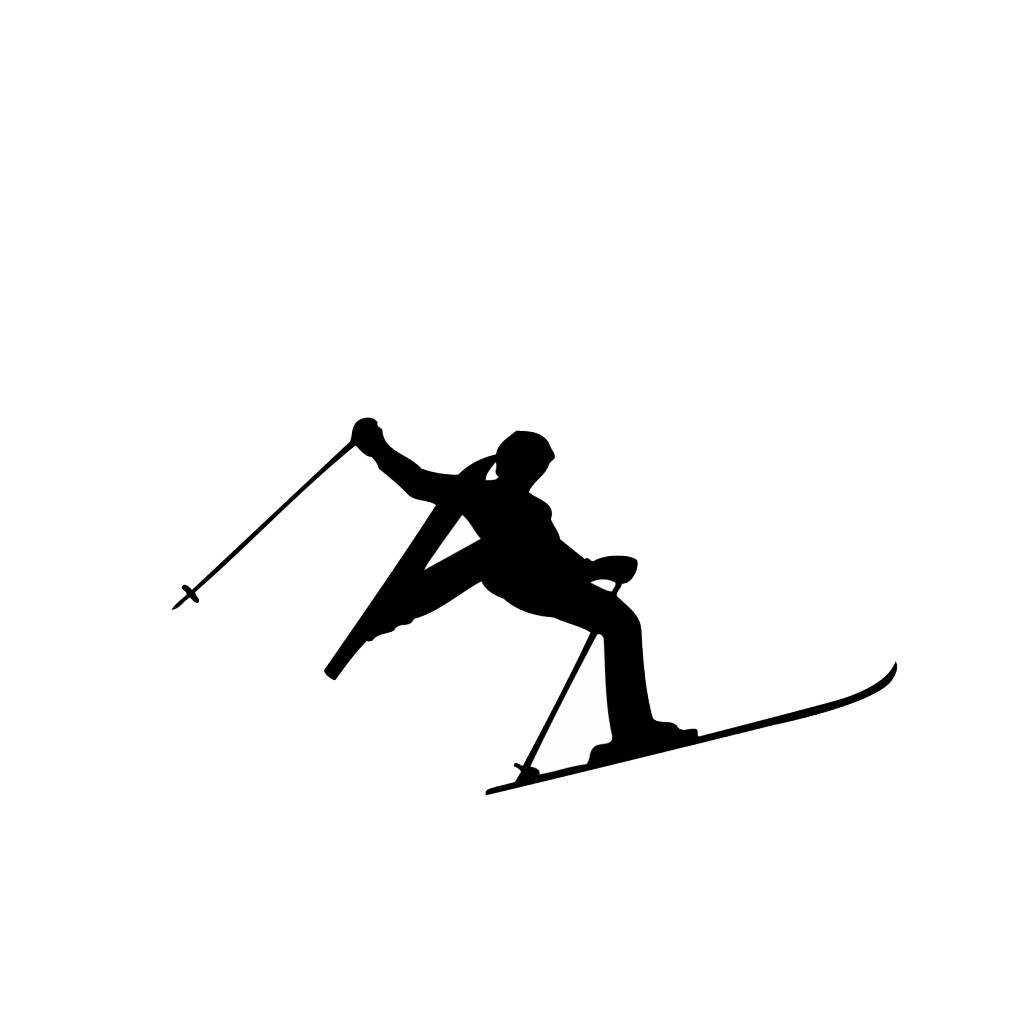 Ski Folienschnitt