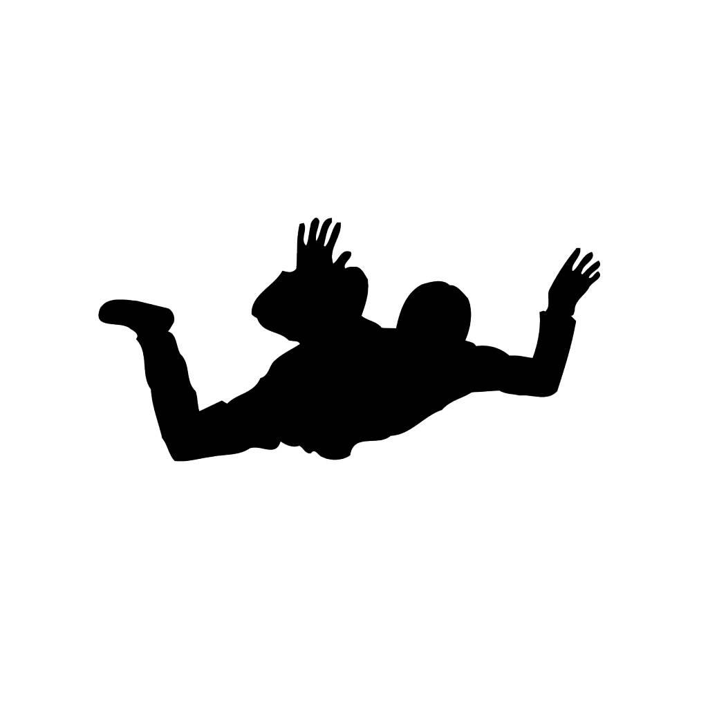 Skydiving Cut Vinyl