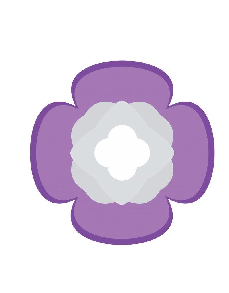 Chinese flower Sticker