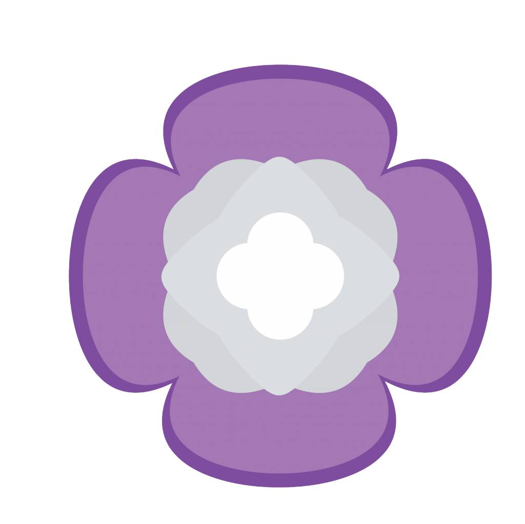 Pegatina flor chino