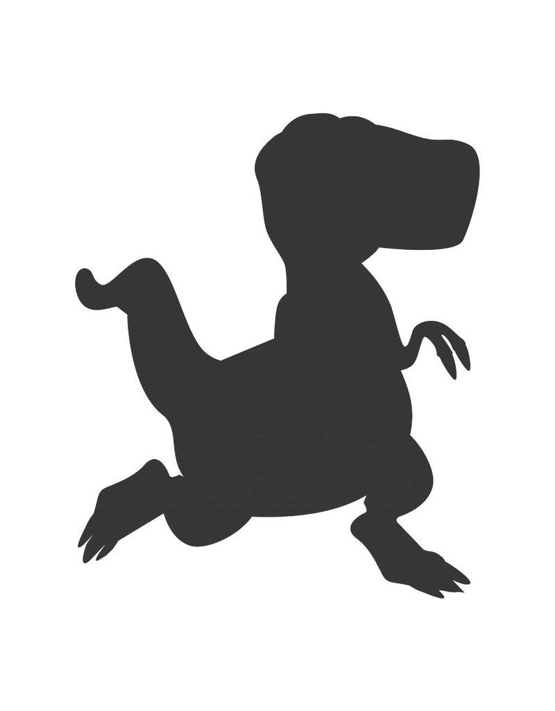 Pegatina pizarra fantasía dinosaurio 2