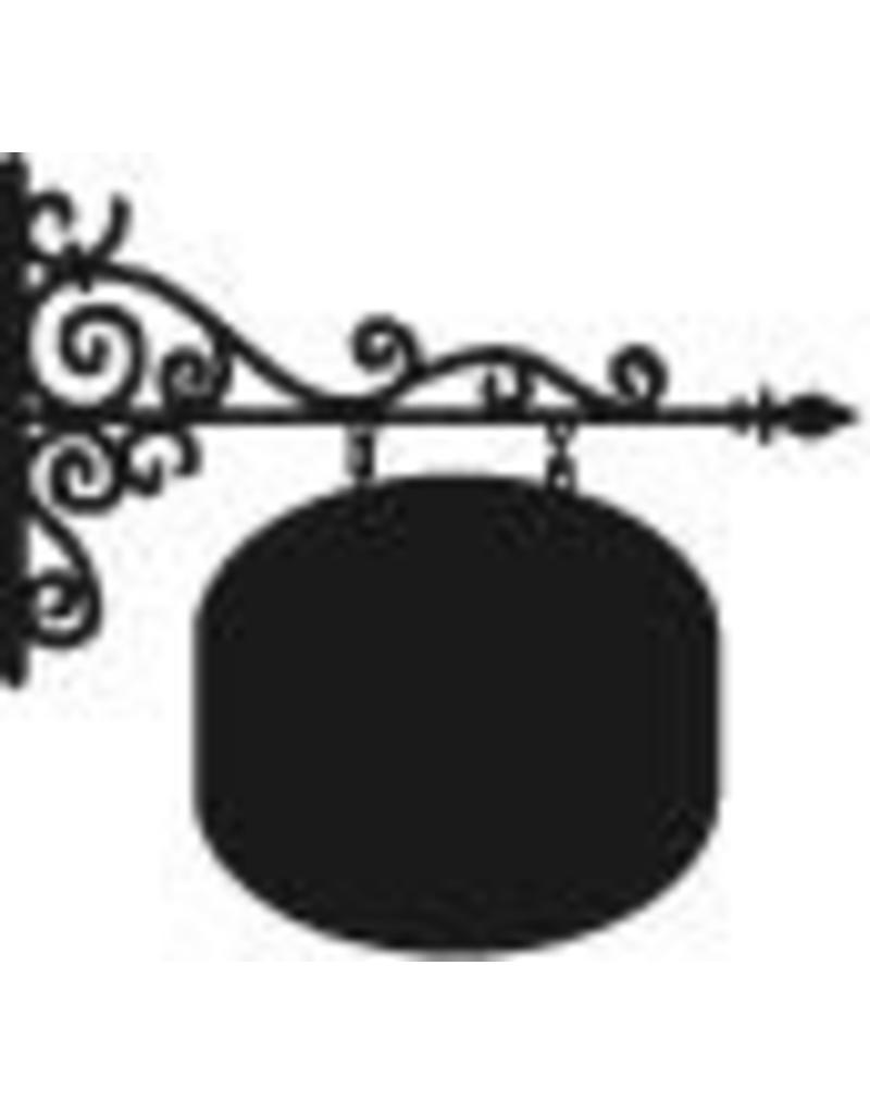 Pegatina pizarra cartelera círculo