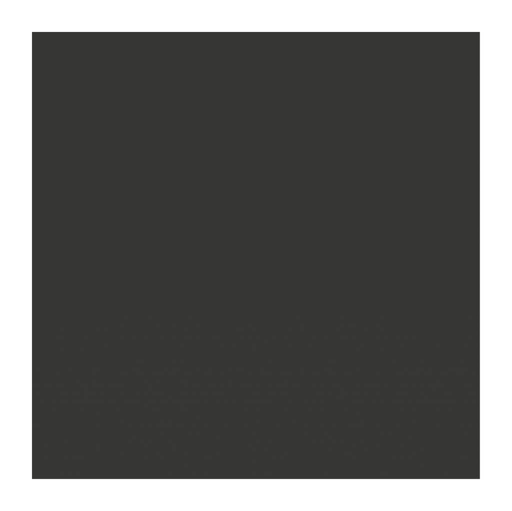 Black board figures Square Sticker