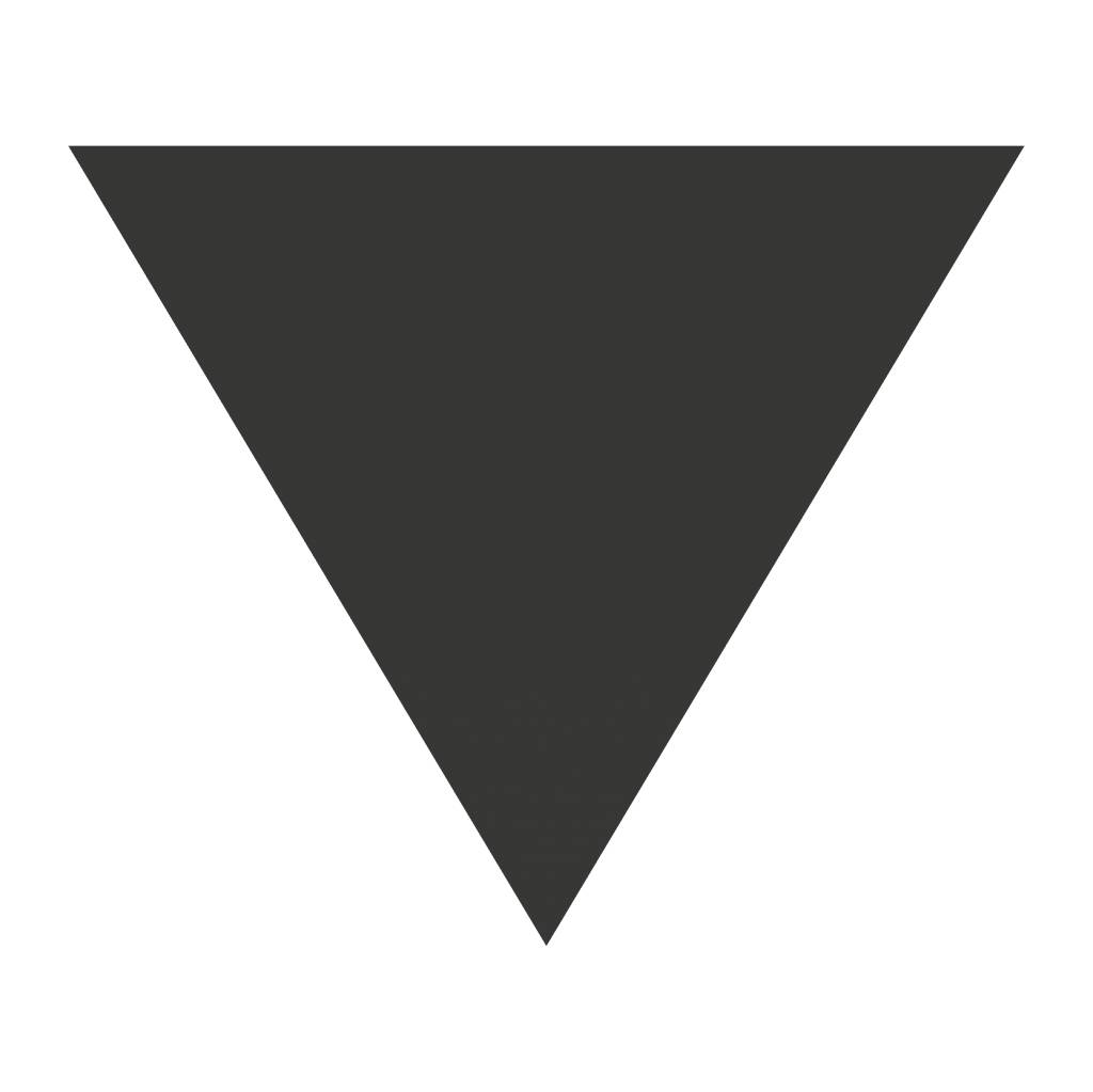 Black board figures Triangle Sticker