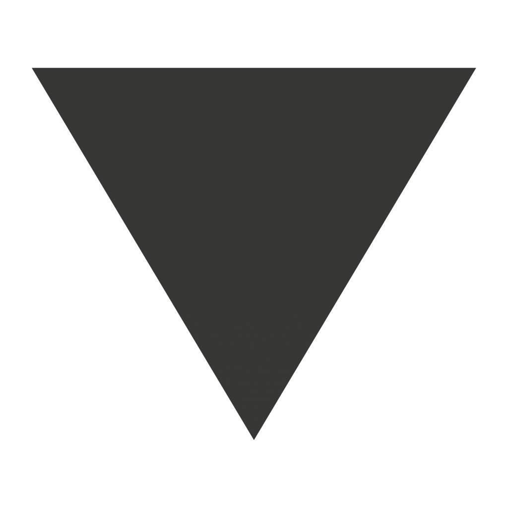 Schoolbord Figuren Driehoek Sticker