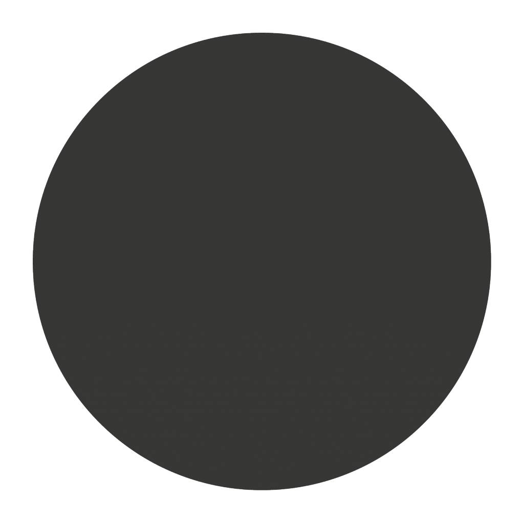Black board figures Circle Sticker