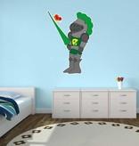 Pegatina habitación infantil - Caballero