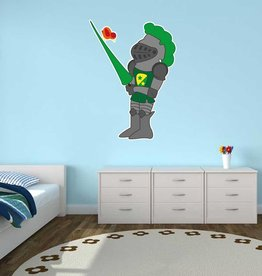 Kinderkamer Sticker - Ridder