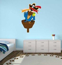 Autocollant chambre d'enfants - Pirate