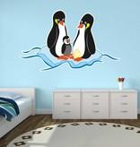 Kinderkamer Sticker - Pinguin