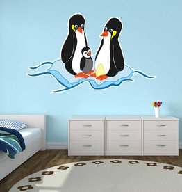 Autocollant chambre d'enfants - Pingouin
