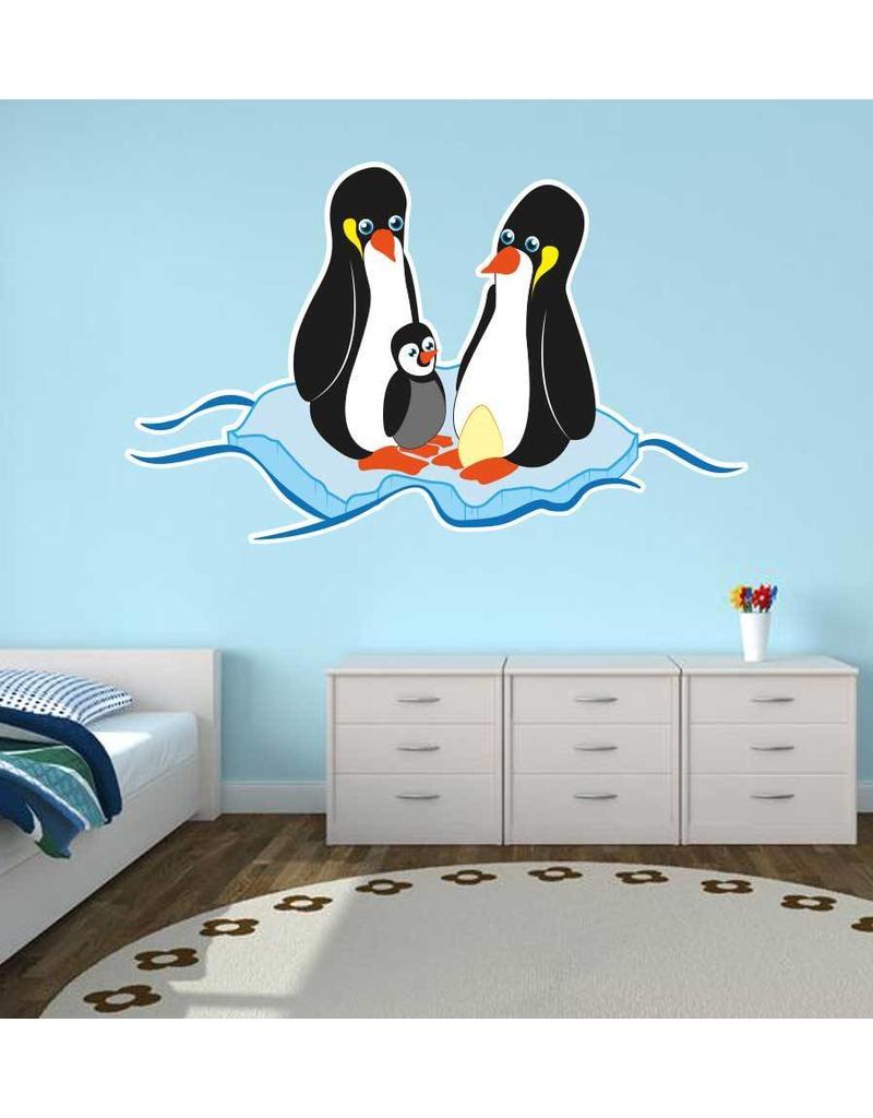 Pegatina habitación infantil - Pingüino