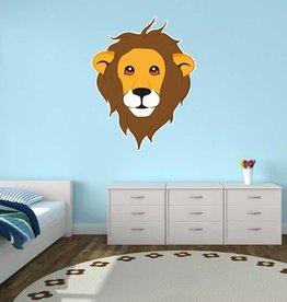Autocollant chambre d'enfants - Lion