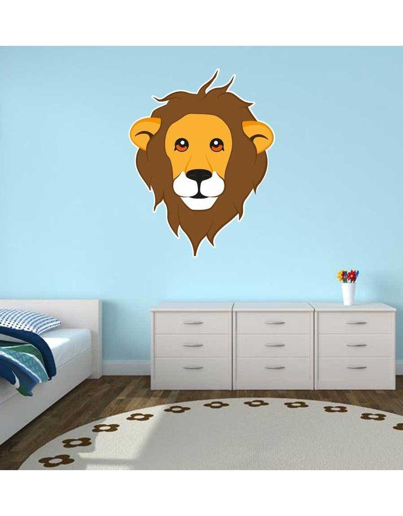 Pegatina habitación infantil - León
