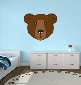 Autocollant chambre d'enfants - Ours