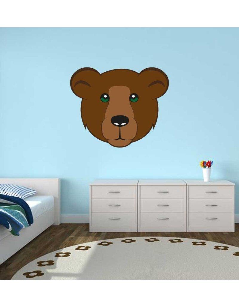 Pegatina habitación infantil - Oso