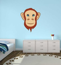 Kinderkamer Sticker - Aap
